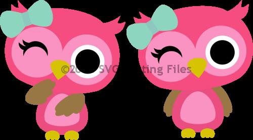 Owl Girl Winking