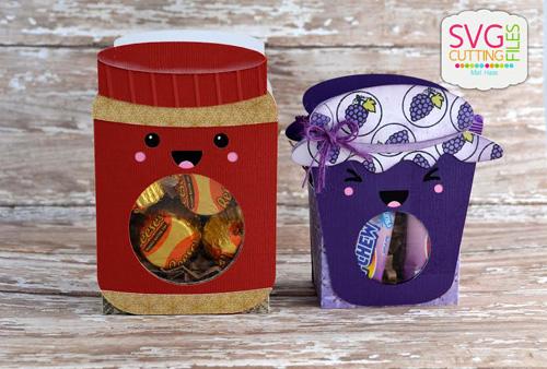 PB&J Treat Jar Boxes
