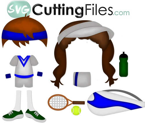 Paper Dolls Tennis Add On