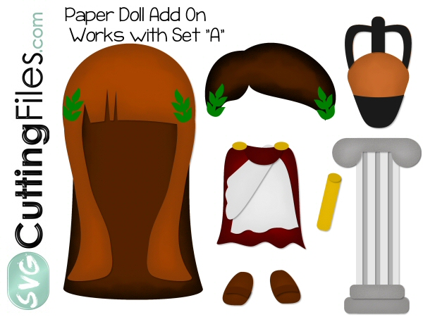 Paper Dolls Toga Add On
