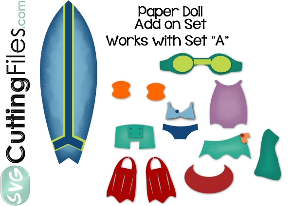 Paper Dolls Beachwear Add On