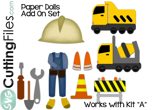 Paper Dolls Construction Add On