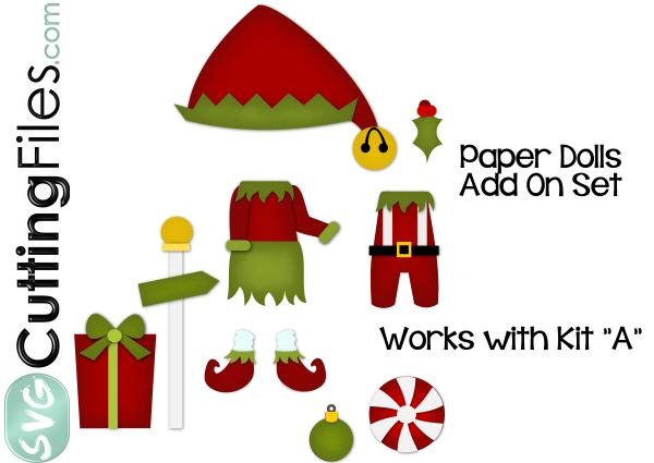 Paper Dolls Elf Add On