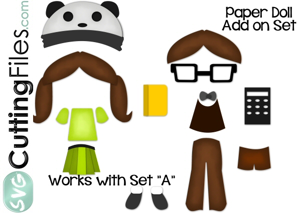 Paper Dolls Nerd Add On