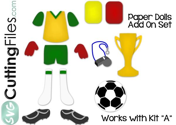 Paper Dolls Soccer Add On