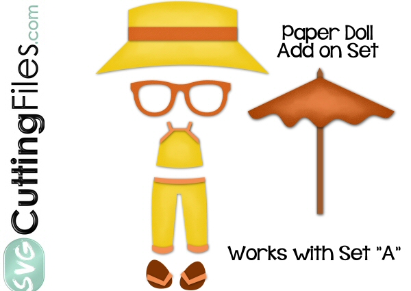 Paper Dolls Summer Clothing Add On