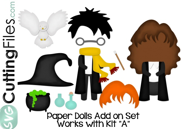 Paper Dolls Wizards Add On