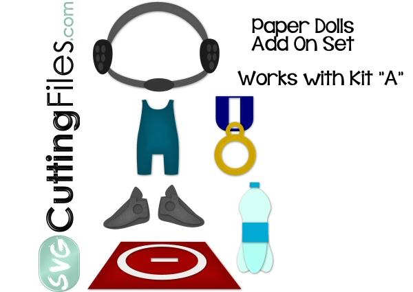 Paper Dolls Wrestling Add On