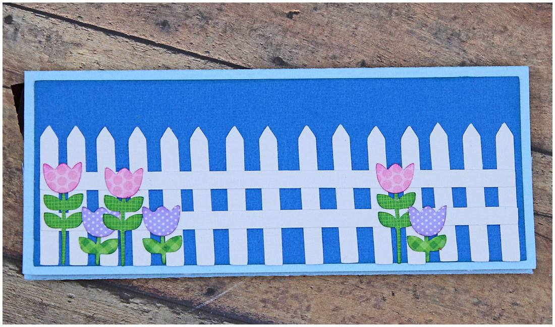 Picket Fence Candy Bar Holder