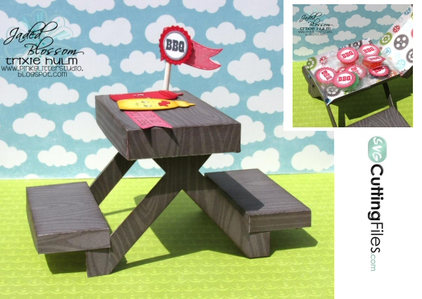 Picnic Table Box
