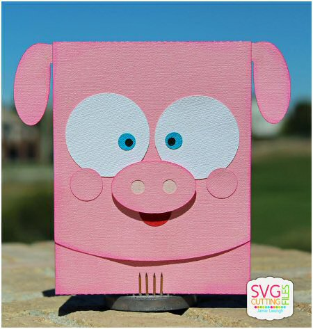 Pig Flip Card