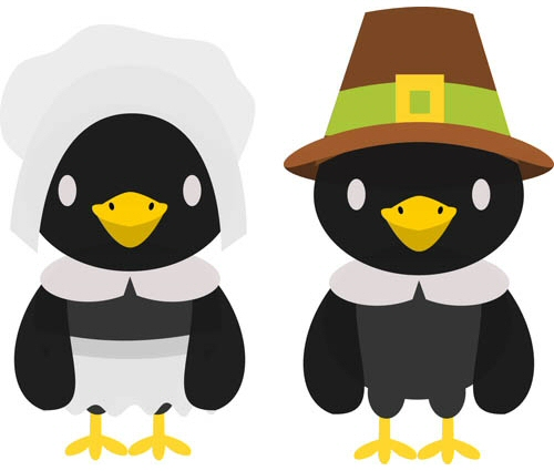 Pilgrim Crows