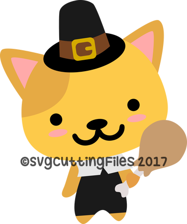 Pilgrim Kitty