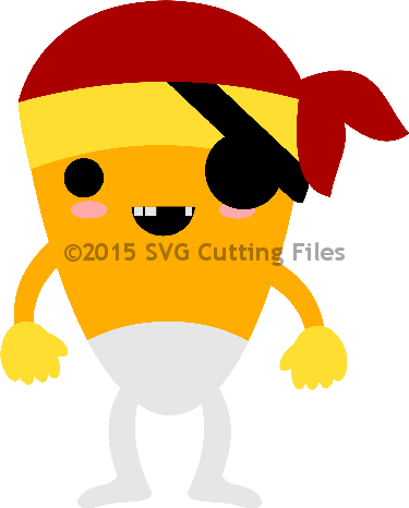 Pirate Candy Corn