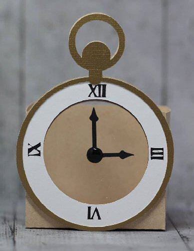 Pocket Watch Belly Box