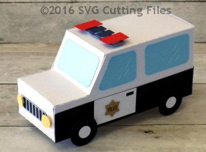 Police Car Box