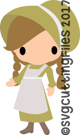 Chibi Prairie Girl
