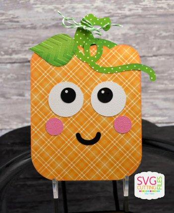 Pumpkin Flip Card