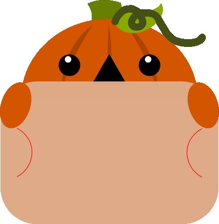 Pumpkin Gift Card Peeker