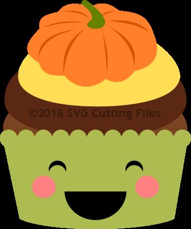 Pumpkin Icing Cupcake