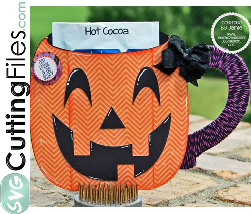 Pumpkin Cocoa Mug Pocket