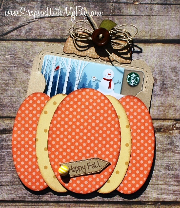 Pumpkin Slider Card