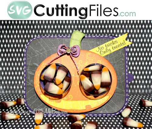 Pumpkin Treat Cup Card