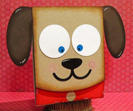 Puppy Flip Card