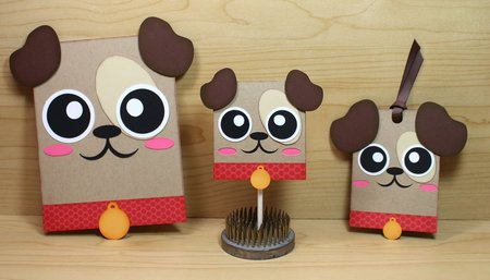 Doggie Card - Hang Tag and Lollipop Set