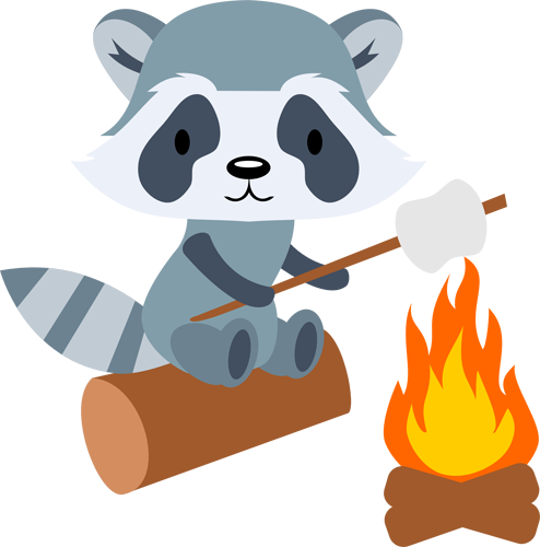 Raccoon Marshmallows