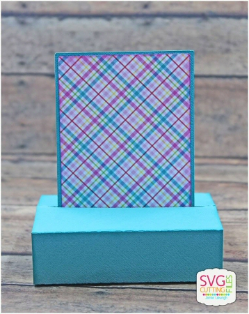 Sliding Pop Up Rectangle Card