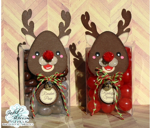 Reindeer Treat Cup Craft for Kids