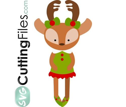 Reindeer Doll