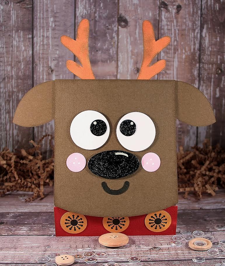 Reindeer Flip Card