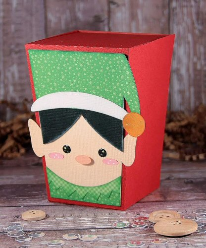 Elf Reverse Trapezoid Box
