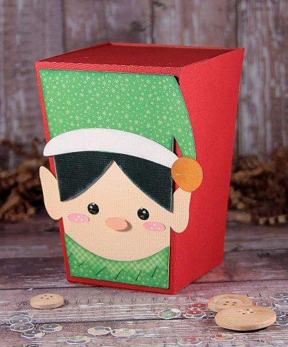 Elf Reverse Trapezoid Box