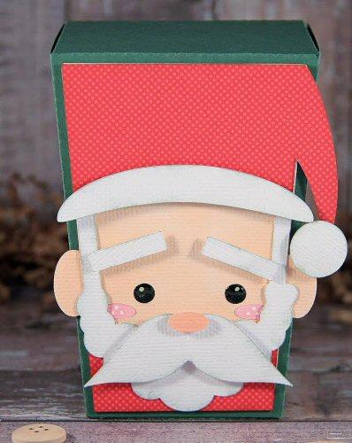 Santa Reverse Trapezoid Box