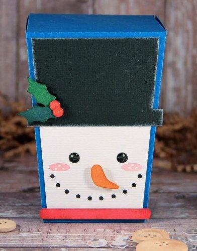 Snowman Reverse Trapezoid Box