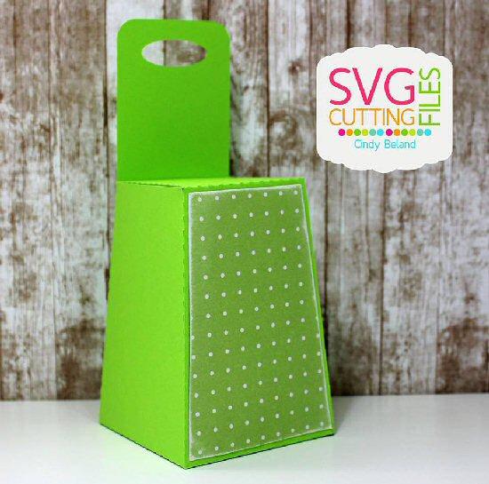 Reverse Trapezoid  Box