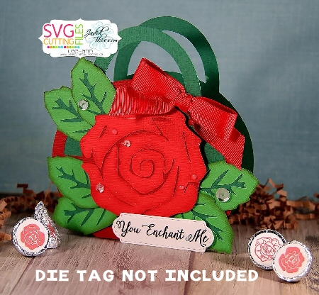 Rose Handled Bag