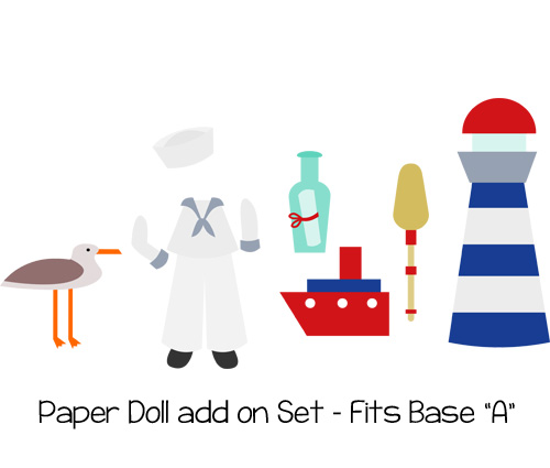 Paper Dolls Sailor Add On