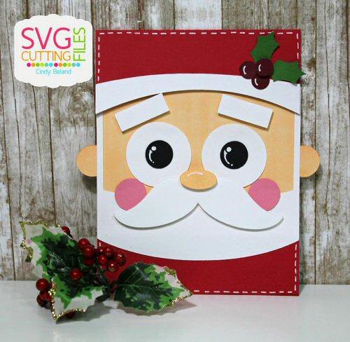 Santa Flip Card