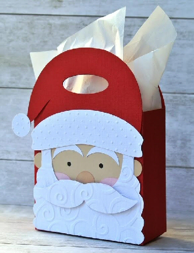 Santa Handled Bag