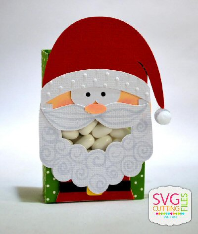 Santa Mint Holder