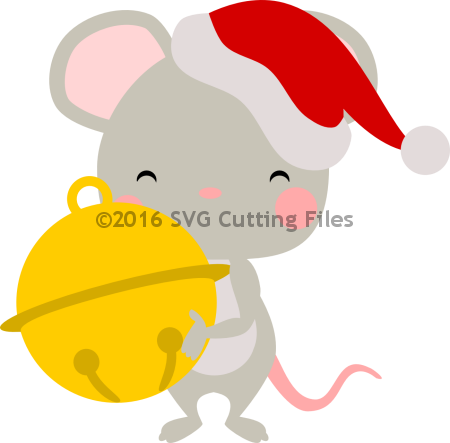 Santa Mouse Jingle Bell