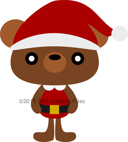 Santa Teddy Bear