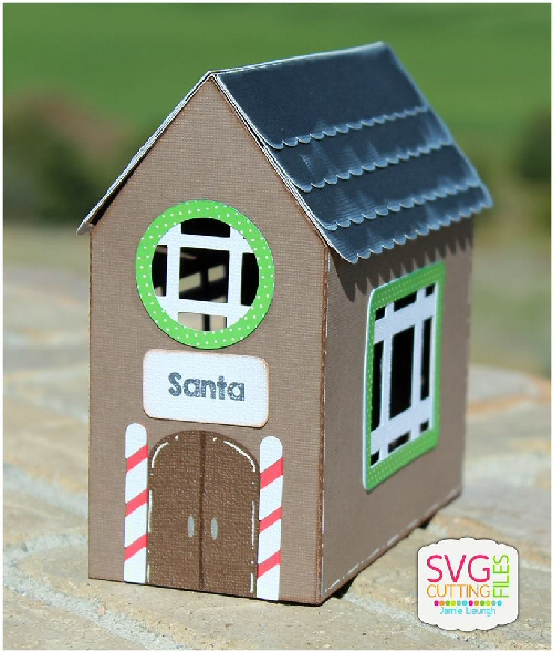 Santa Workshop Box