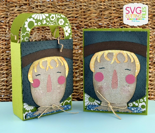 Scarecrow Bag & Card Set