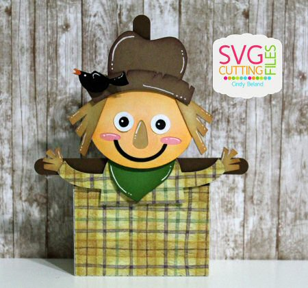 Scarecrow Treat Box