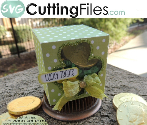 Shamrock Cut out Box Holder
